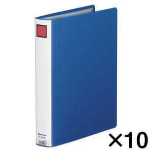 代引不可 キングジム キングファイル スーパードッチ 10冊入 GXタイプ 廉価版(A4判タテ型・両開き) 背幅:46mm(青)|dotkae-ru