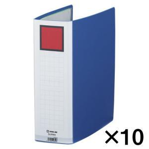 代引不可 キングジム キングファイル G GXシリーズ 10冊入 GXタイプ 廉価版(A4判タテ型・片開き) 背幅:96mm(青)|dotkae-ru