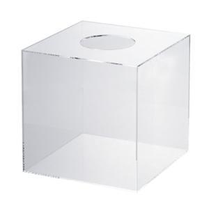共栄プラスチック 抽選箱 (クリア)|dotkae-ru