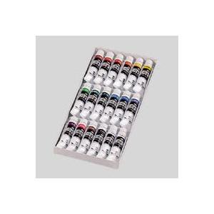 ターナー ポスターカラーセット チューブ入 スクールセット 17色(18本) 11mlX17色+白|どっとカエール