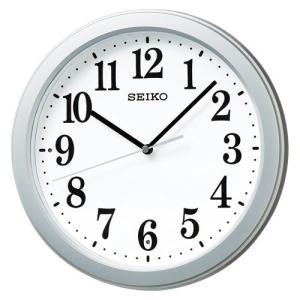 セイコー セイコークロック 電波掛時計 コンパクトサイズ プラスチック枠(銀色メタリック塗装) dotkae-ru