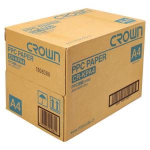代引不可 クラウン 法人限定 メーカー直送品 PPC用紙  規格:A4判|dotkae-ru