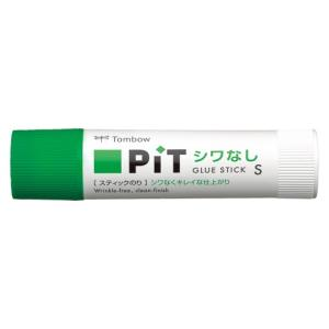 トンボ鉛筆 スティックのり シワなしピット 容量:約10g|dotkae-ru