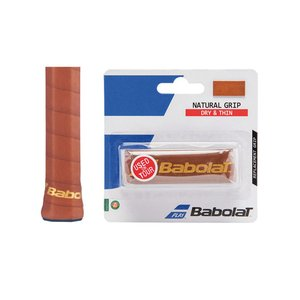 バボラ(BABOLAT) ナチュラルグリップ BA670057 天然皮革 レザー|double-knot