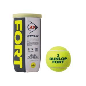ダンロップ テニスボール フォート(公認球)  1缶2球入り