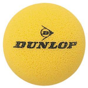 DUNLOP(ダンロップ)スポンジHGII 1箱6球入 ショートテニス用スポンジボール