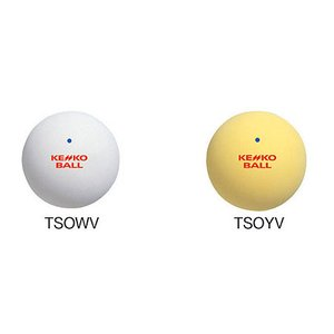 ナガセケンコー(KENKO) 軟式テニスボール/ソフトテニスボール 公認球 1ダース(12球) double-knot