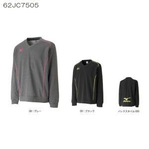 ミズノ テニスウエア ブレスサーモスウェットシャツ 62JC7505 ユニセックス 2017年モデル|double-knot