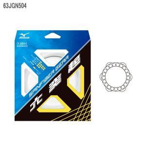 ミズノ/MIZUNO 63JGN504 スピンファイバーギア ソフトテニスガット|軟式テニスガット|モノフィラメント|2014年発売|double-knot