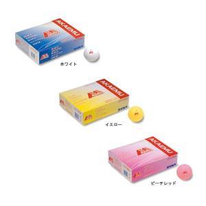 ショーワ(SHOWA) 赤M 軟式テニスボール/ソフトテニスボール オフィシャル 公認球 1ダース(12球) double-knot