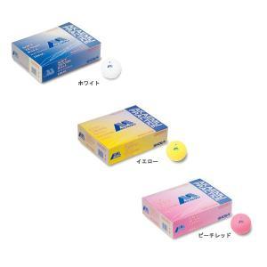 ショーワ(SHOWA) 赤M 軟式テニスボール/ソフトテニスボール・プラクティス/練習球 2球 double-knot