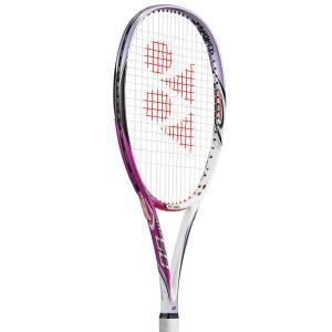 ヨネックス(YONEX) INX60 773 アイネクステージ60 シャインパープル ソフトテニス・軟式テニスラケット オールラウンド double-knot