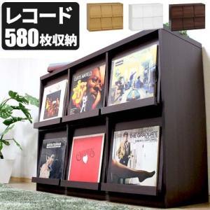 【2月中旬入荷】レコードラック レコード収納  LP収納 ディスプレーラック レコード棚 本棚 ディスプレイラック 2段3列 飾り棚 record double-oo