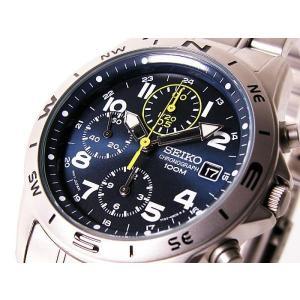 セイコー SEIKO クロノグラフ メンズ腕時計  SND3...
