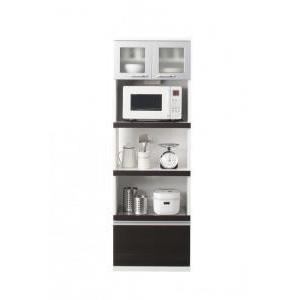 (組立設置) キッチンボード おしゃれ 幅60 スリム奥行41cm|double