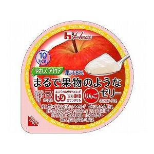 【介護】(18.2)やさしくラクケア まるで果実のようなゼリー りんご/ 60g|doublecheck