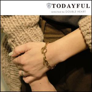 TODAYFUL トゥデイフル LIFE's ライフズ 通販 Nuance Chain Bracelet ニュアンスチェーンブレスレット レディース アクセサリー ブレスレット doubleheart