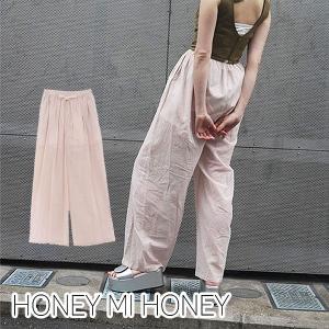 【SALE】ハニーミーハニー HONEY MI HONEY cotton pants コットンパンツ...