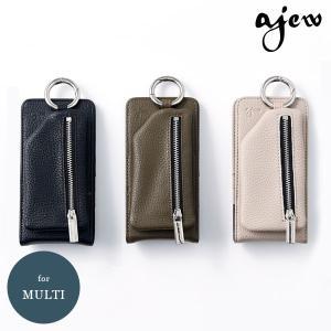 【マルチ対応】エジュー ajew 通販 vertical zipphone case iphone1...