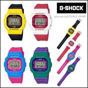 G-SHOCK ジーショック ペア 35周年 THROW BACK 1983 メンズ 時計 レディース ブランド カシオ Gショック casio 防水 カラフル ブラック 赤 ブルー イエロー doubleheart
