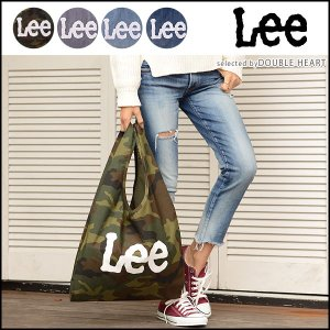 Lee リー CONVIENIENT BAG コンビ二エントバッグ レディース メンズ バッグ マザーズバッグ エコバッグ 大容量 a4 a3 コットン デニム ヒッコリー カモフラ