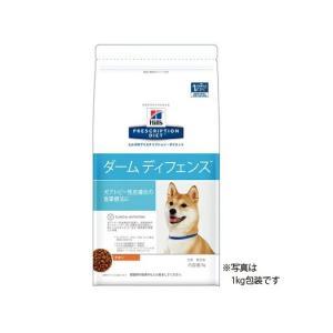 【送料無料】犬用【ダームディフェンス ドライ:1kg】×【1袋】ヒルズ【レビューを書いて送料無料】|doubutsunotame