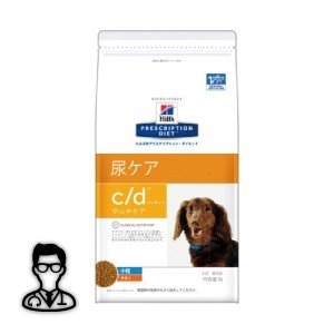 【獣医師監修】【NEW】犬用【c/d マルチケア 尿ケア ドライ(小粒):3kg】×【1袋】ヒルズ|doubutsunotame