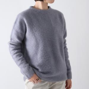 ATON〔エイトン〕KRAGBW0901FUR CASHMERE /カシミアクルーネックセーター|douceharmonie-ndc