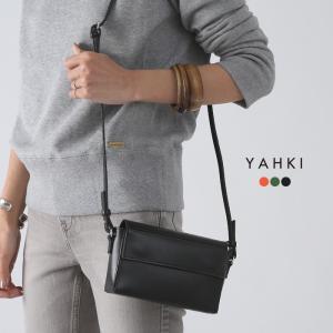 **YAHKI〔ヤーキ〕YH-195スプリットレザーフラップミニショルダーバッグ【CS】【MMB】|douceharmonie-ndc