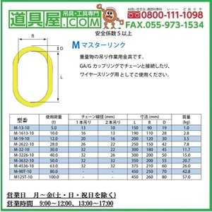 マーテック マスターリンク M-13-10 dougu-ya 02