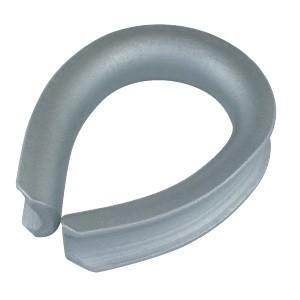 A形シンブル ドブメッキ 適用ロープ径6mm dougu-ya