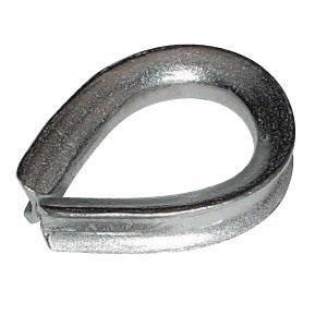 グランドワイヤコース ドブメッキ 適用ロープ径28mm dougu-ya