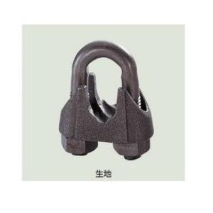 KMワイヤクリップ クロ 適合ワイヤ径9mm