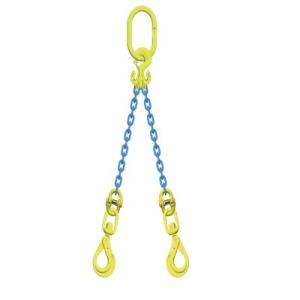 マーテック チェーンスリング 使用荷重3.4t 2本吊りセット TG2-BKL8