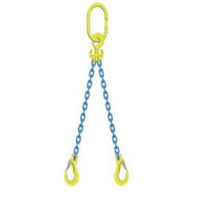 マーテック チェーンスリング 使用荷重1.9t 2本吊りセット TG2-EGKNA6