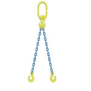 マーテック チェーンスリング 使用荷重1.5t 2本吊りセット TG2-CL6