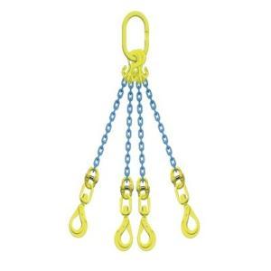 マーテック チェーンスリング 使用荷重2.8ton 4本吊りセット TG4-BKL6