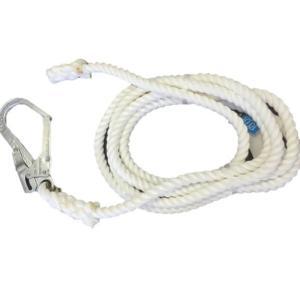 ホワイト介錯ロープ 逆サツマ加工 12MMX10M