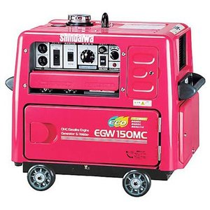 新ダイワ(やまびこ) エンジン溶接機EGW150MC-C溶接機|dougudou