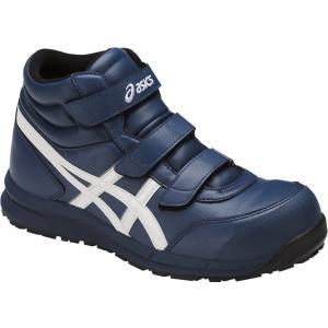 アシックス 安全靴 ウィンジョブ  FCP302 <FCP302-5001> 24.0cm インシグニアブルー×ホワイト|dougudou