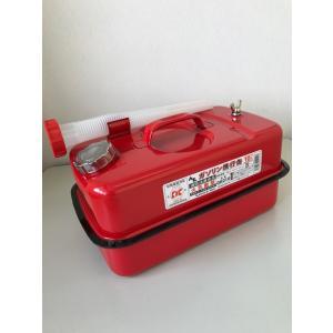 ガソリン用携行缶  新品 10リットル 自動車/バイク/農業機器/刈払機の予備燃料、非常時に【消防法適合品】|dougumanzoku