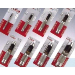 レザークラフト 皮ポンチ 各サイズ(中)10-13mm 一部さび汚れ、パッケージ無しのため特価|dougumanzoku