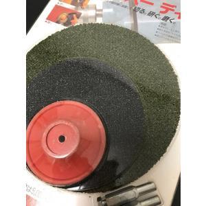 研ぐ磨く切るスーパーディスク/大小各1枚入り/不思議な砥石/ドイツ製/お手持ちの電気ドリルに取付けて使う/わけあり特価/小キズ汚れありのため|dougumanzoku