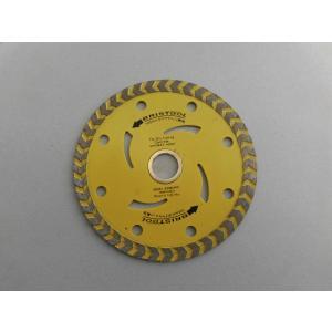 ダイヤモンドカッター 105mm  ブロック/レンガ/セメント類用 ばら売り(1枚) わけあり/訳あり特価 パッケージ無し、一部汚れ等ありのため|dougumanzoku