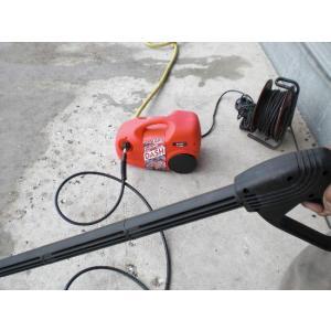【アウトレット】家庭用 高圧洗浄機 高圧ホース4.8M付き 訳あり特価/箱汚れありのため|dougumanzoku