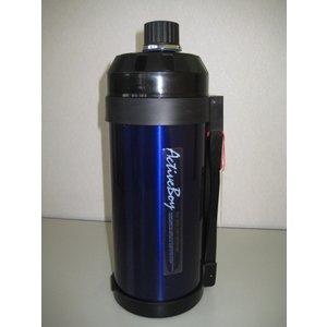 【アウトレット特価】ステンレスボトル水筒 アクティブボーイ 1500ml(色ブルー)夏休みに!通勤通学にたっぷり1.5リットル!特価|dougumanzoku