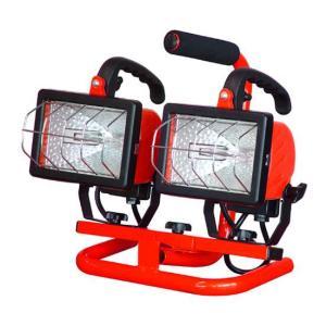 ハロゲン投光器 250W×2灯の スタンド式 未使用 専用の箱無しのため特価|dougumanzoku