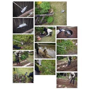 雑草退治 「草とーる」伸縮式/ガーデニング/お庭がきれいに/草とり/草抜き/ステンレス No.1200 訳あり品|dougumanzoku|05