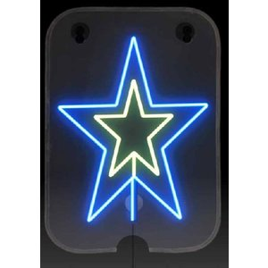 ソーラー クリスマスイルミネーション!手巻き充電付き お星さま(新品) |dougumanzoku