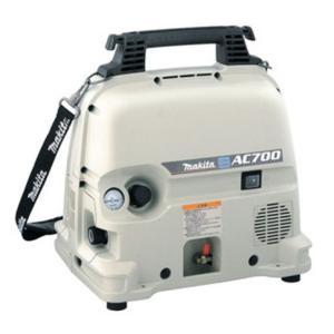 マキタ エアコンプレッサ(一般圧) タンク容量/5L AC700|douguya-dug